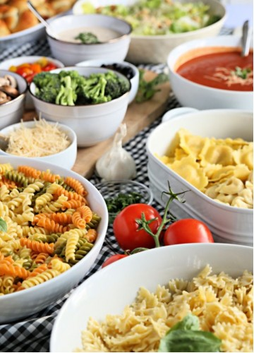 Build your own Pasta Entree, Meal Package