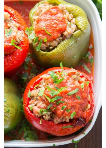 Stuffed Peppers, Meal Package