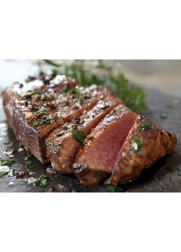 New York Strip Steak , Grilled Meal package