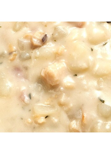 Clam Chowder: White