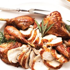 Turkey, Quartered Cooked